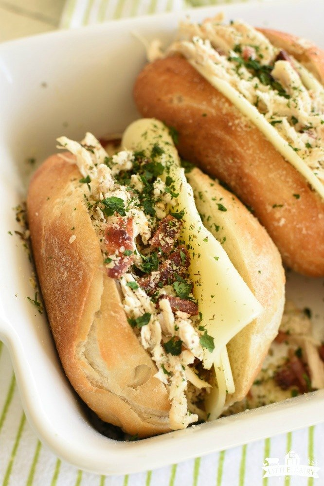 Italian Chicken Bacon Sandwich- easy lunch