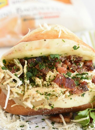 Italian Chicken Bacon Sandwich- featured image