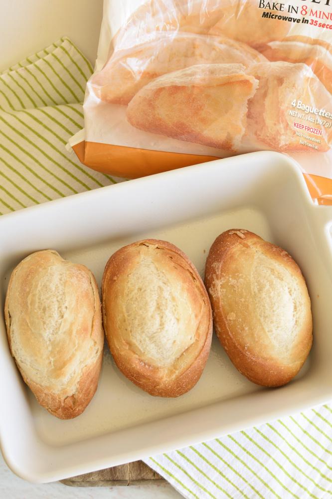 Italian Chicken Bacon Sandwich- with Rhodes Baguettes.
