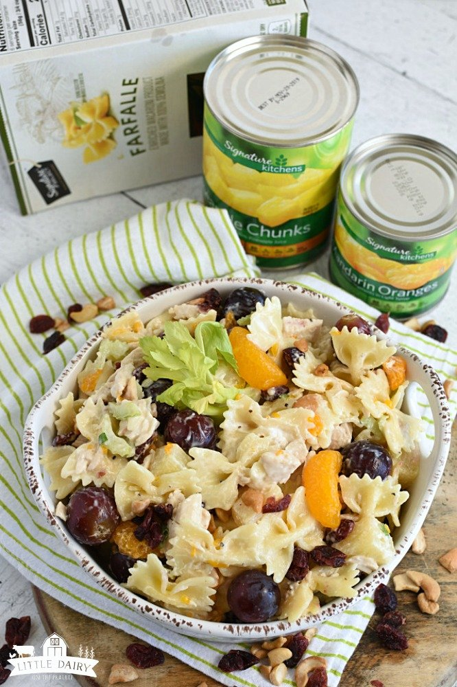Chicken Pasta Salad- Signature Farms 2