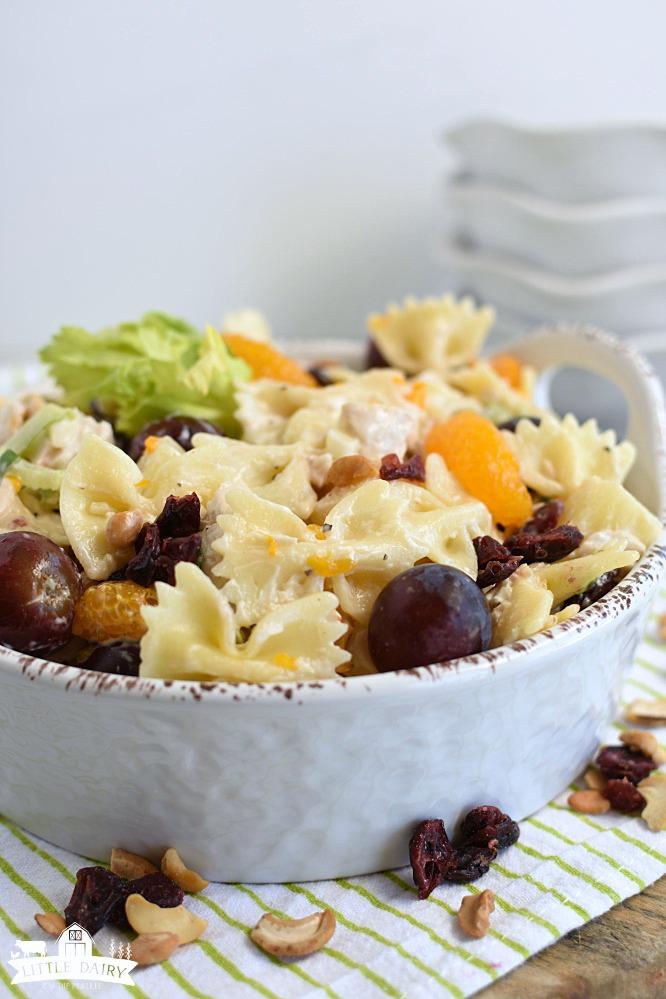 Chicken Pasta Salad- main dish salad 2