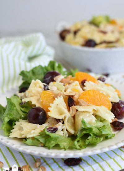 Chicken Pasta Salad- serve on lettuce 2