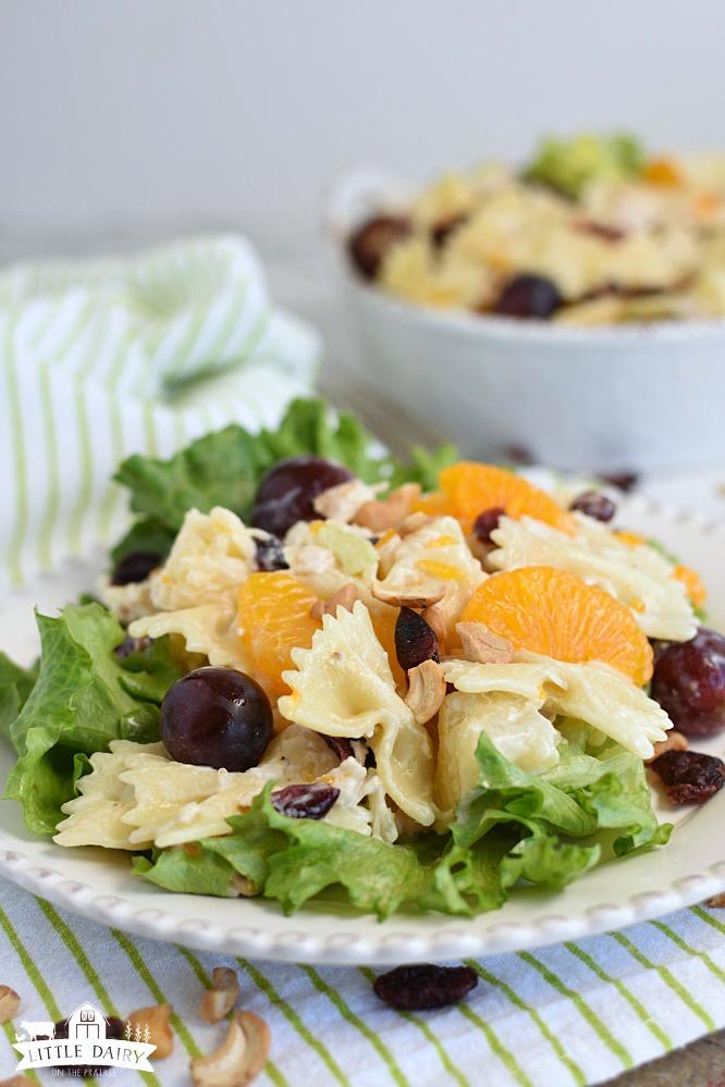 Chicken Pasta Salad- serve on lettuce 2