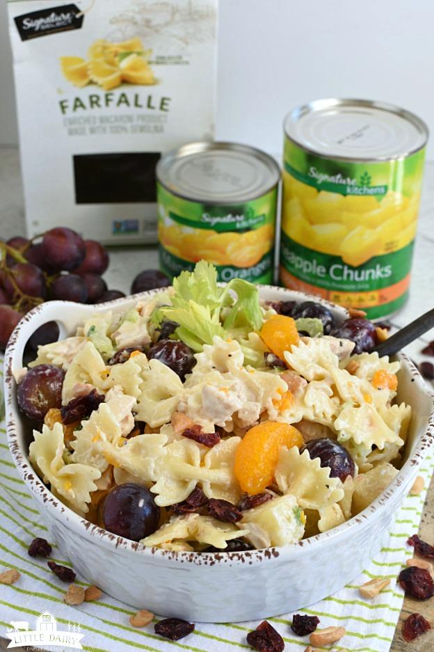 Chicken Pasta Salad- summer salad2