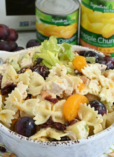 Chicken Pasta Salad- summer salad3