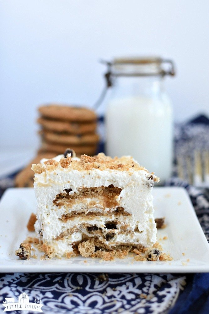 Chocolate Chip Cookie Icebox Cake Recipe Little Dairy On The Prairie