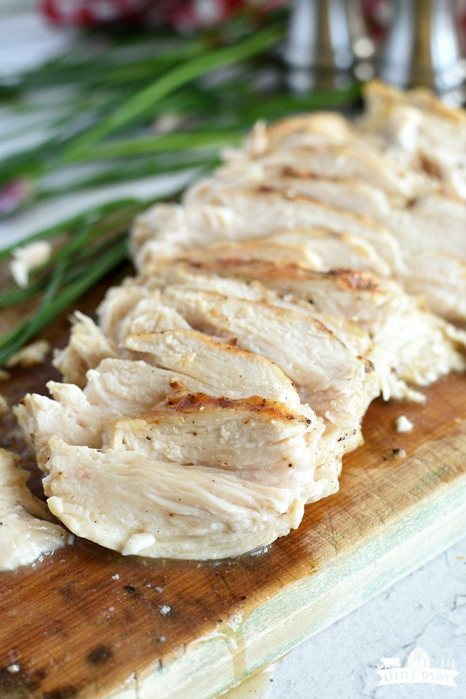 3 Ingredient Grilled Chicken - grill extra chicken to add to recipes later