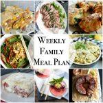 Weekly Family Meal Plan – Week 139