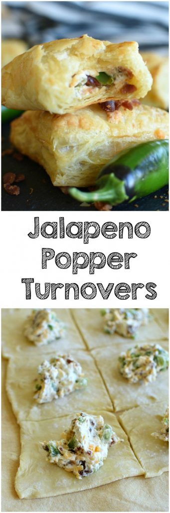 Jalapeno Popper Rollups are the perfect appetizer! They have a bacon, shredded cheese, and jalapeno cream cheese filling tucked inside puff pastry! www.littlediaryontheprairei.com #appetizer #fingerfoods #cheese #bacon #jalapenos #tailgating #easyrecipe #puffpastry