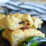 Mini Jalapeno Popper Turnovers
