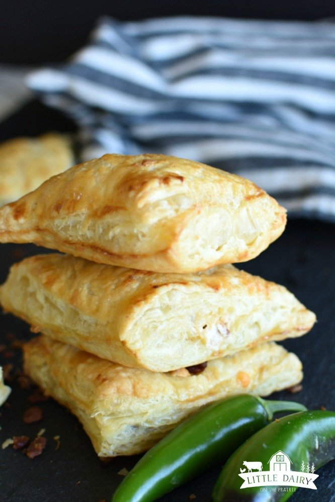 Jalapeno Popper Turnovers are a great appetizer, or finger food for parties.
