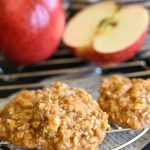 No Bake Caramel Apple Cookies