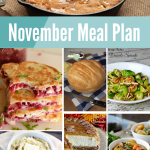 November Monthly Recipe Meal Plan