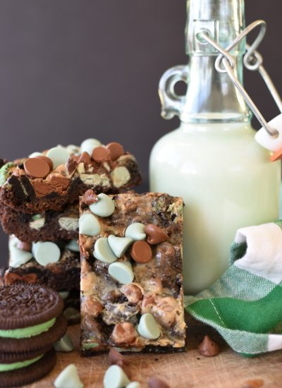 Mint Chocolate Magic Bar Cookies