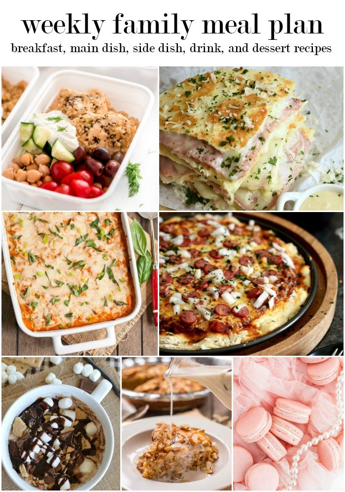 a collage with pictures of food