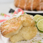 Coconut Lime Monkey Bread