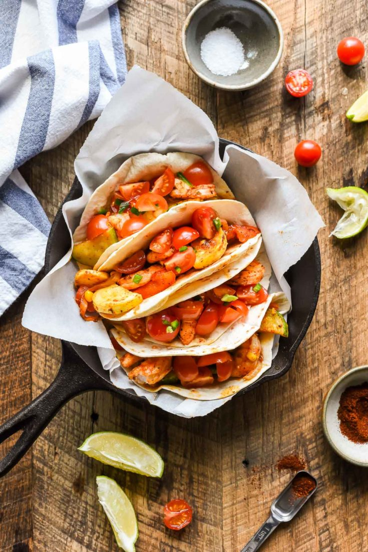 Sheet Pan Shrimp Tacos | NeighborFood