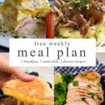 Easy Weekly Family Menu – 178