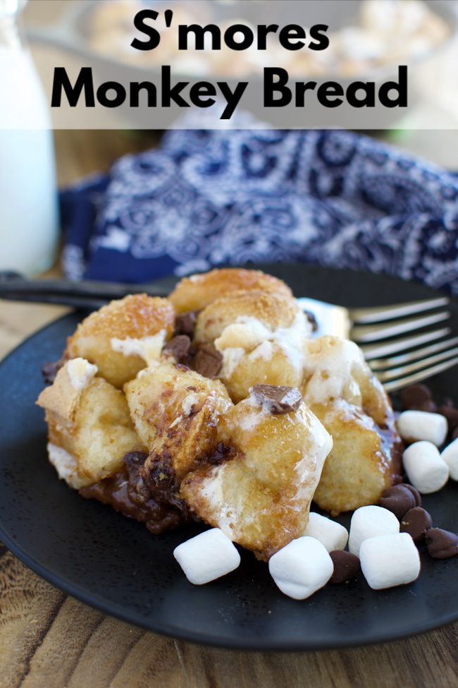 S Mores Monkey Bread Little Dairy On The Prairie