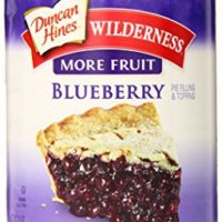 Wilderness More Fruit Pie Filling & Topping, Blueberry, 21 Ounce