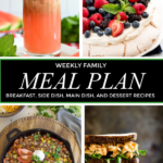Weekly Family Menu – 180