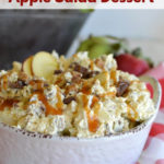 Caramel Apple Salad with Snickers Candy Bars