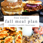 Fall Menu Ideas