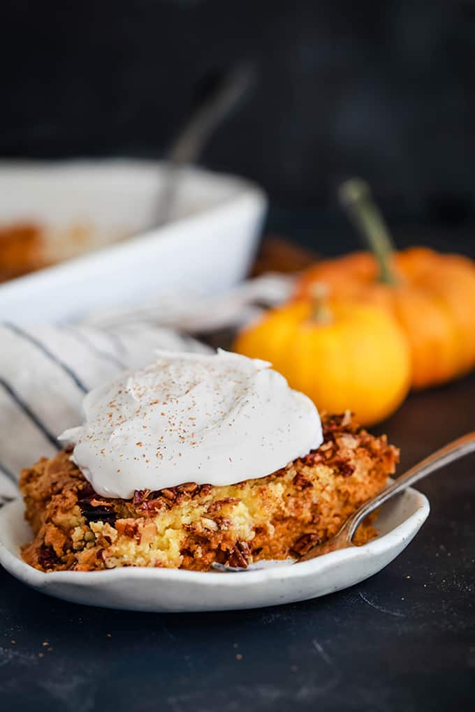 Upside Down Pumpkin Pie - Melanie Makes