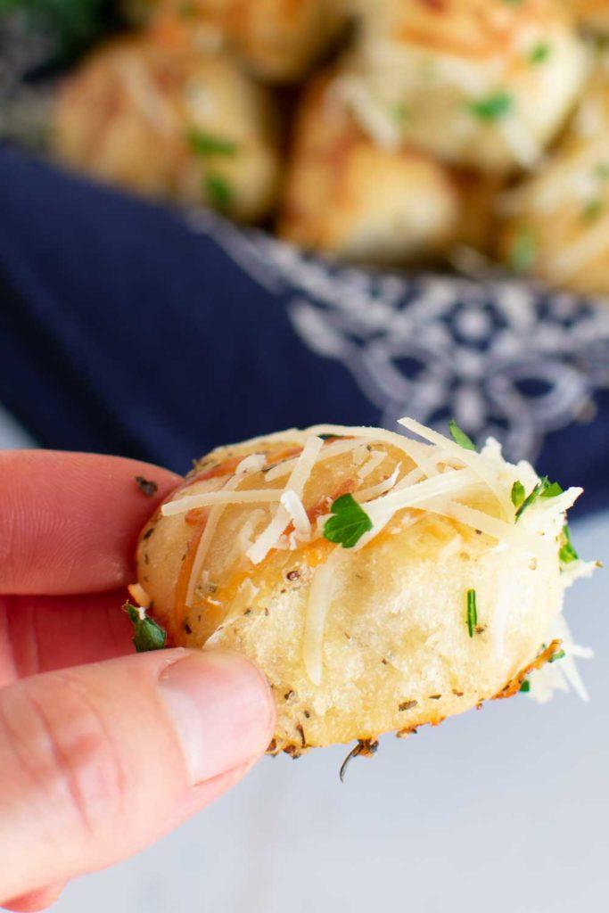 Parmesan Garlic Rhodes Rolls Recipe | Little Dairy On the ...